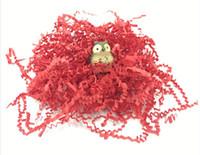 fragmento de presente venda por atacado-1 kg / a bag Crinkle Shredded Paper Shred Cesta de Presente Confetti Presentes Caixa De Enchimento de Material de Aniversário / Festa de Casamento Decoração (7)