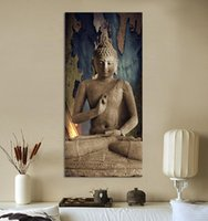 Wholesale Modern Decorative Art - dance pictures Free shipping buddha art canvas Wall art buddha Picture landscape Canvas painting Modern living room Decorative