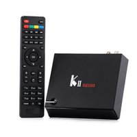 Wholesale Hdmi Hd Dvb - KII Pro DVB T2 S2 2G 16G TV Box Android 5.1 Amlogic S905 Quad-core 4K*2K 2.4G&5G Wifi Bluetooth 4.0 Androidtvbox