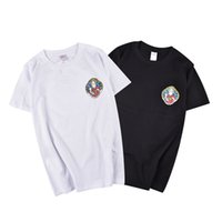 Wholesale Black Pocket Tee - RIPNDIP T Shirt Men Wome Top Version Summer 100% Cotton Character Cat T-shirts Rip n Dip Couple Tees RIPNDIP T Shirt