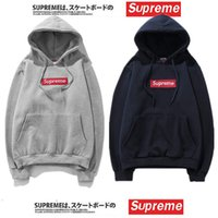 Wholesale Hip Hop Clothes For Women - Athletic Clothing Sup Hoodies With logo Box Hip Hop Sweatershirt with Cotton High Quality Pullover Oversize For Men Women Outdoor Wear
