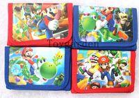Wholesale super mario wallets for sale - Group buy of Super Mario Wallets Purses W zip