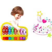 Wholesale Toy Organs - Hand knocking xylophone Musical instrument piano Enlightenment early childhood educational toys Children percussion toy electronic organ toy