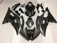 Wholesale Silver R6 Fairings - Three free beautiful gift and new high quality ABS fairing plates for YAMAYA YZF-R6 08-12 Very nice Bodywork black and silver