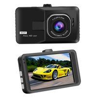 Wholesale car dvrs online - Newest Inch Car Dvr Full HD P DVRs Registrar Car Camera Digital Video Camcorder Parking Recorder G Sensor Dash Cam