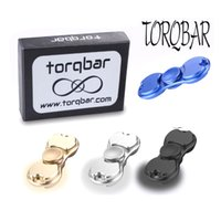 Wholesale Hasbro Toys Wholesale - Starss fidget spinner hasbro toy hand spinners golden aluminum alloy torqbar two style finger tip rotation anxiety adult toys best gift