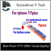 Wholesale Iphone Screwdriver Bottom - 1pcs for iPhone 7 7g Plus Screwdriver Y Tech Screw Driver Special for i-Watch Repair home bottom screw use repair screwdriver