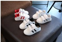 Wholesale Boys Shoe Loafer - New Spring Boys Children Shoes Kids Boys PU Leather Shoes Kids Moccasin Loafers Toddlers Casual Single Flats Sneakers