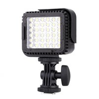 Wholesale Camcorder Led Light Video - CN-LUX360 5400K Dimmable LED Video Light Lamp for Canon Nikon Camera DV Camcorder