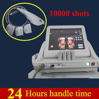 Wholesale Two Lift - Two years warranty hifu machine with 10000 shots Face lifting Body Slimming portable home ultrasound with 3 cartridge or 5 cartridge