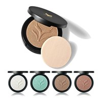 Wholesale Using Eye Shadow - NEWEST HML Professional 4 Colors Face Highlighter Powder Palette Makeup Shimmer Highlight Make Up Powder Two Way Use Cosmestic Eye Shadow