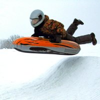 Wholesale Ski Sled - Wholesale- 2016 Winter Inflatable Toys Extra Thick Wear Round Sled Snow Tube Sled Skating Skiing Raft Outdoor Children Sports