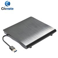 Wholesale Laptop Dvd Drive External Enclosure - GOOD Quality External ODD HDD Device USB 3.0 Drive Case 9.5mm SATA DVD CD-ROM Enclosure