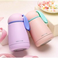 Wholesale Rabbit Belly - Cute 300ML Eco-Friendly Thermos Cup 304 Stainless Steel Insulated Flasks Outdoor Travel Belly Lovely Rabbit Drink Coffee Mug