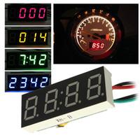 Wholesale Motor Times - Wholesale- DC7-30V Digital LED Clock For Car Truck Motorcycle Motor 24 Hour Time