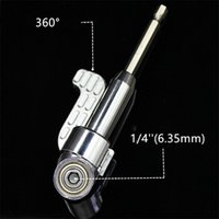 Wholesale Driver Hex - 105 Degree Multifunction Right Angle Driver Magnetic Screwdriver Drill Attachment with 1 4-inch Hex