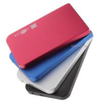 inç sabit sürücüler toptan satış-4 Renk S2502 EL5018 USB 2.0 HDD Sabit Disk Disk HDD Muhafaza Dış 2.5 Inç Sata HDD Durumda Kutusu Süper Ince Alüminyum alaşım Mobil Disk