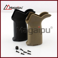 Wholesale M4 Ar15 - Magaipu New Tactical Marking Marked Version PTS M-OE Pistol Grip Black For AEG AR15 M4 Hunting Free Shipping