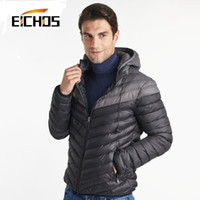 spot down jacket - Fashion Splice Warm Down Jacket Men Waterproof Light Jacket Men Brand Down Jacket Winter Men Spot Down Parkas Outerwear