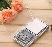Wholesale Display Jewelry Diamond - Mini Electronic Pocket Scale 200g 0.01g Jewelry Diamond mini digital Scale Balance Scale LCD Display with Retail Package box