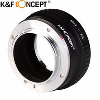 Wholesale Pentax F Lens - Wholesale- K&F CONCEPT Lens Mount Adapter For M42 (Zeiss,Pentax,Praktica,Mamiya,Zenit) Screw Mount Lenses To Fujifilm Microless Cameras