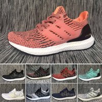 Wholesale Snowflake Shoes - 2017 ultra boost 3.0 running shoes CNY triple black ultraboost 2.0 4.0 white hypebeast primeknit ultra boost snowflake running sports shoes
