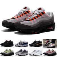 Men sports international - New Men s Stussied International Air th Anniversary Plus Christmas Classic Black White Running Shoes OG Sports Shoes