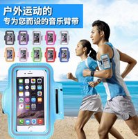 Para iPhone 8 Case Sport Gym Running Brambier Protector Running Bag Sport Arm Band Cover para iPhone 7 Plus 6 6S 5 5S Samsung S7 S6 Edge Note 5