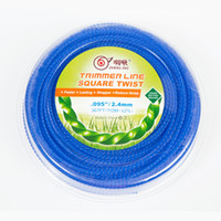 Wholesale square trim - High Quality Maxpower ZHOUJIU Residential Grade Square Twist 0.95-Inch Trimmer Line367-Foot,welcome to order