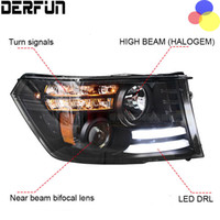 Hernienlampe Kaufen -Fit Dodge Ram 1500 2011 HID LED Scheinwerfer Scheinwerfer HID Hernia Lampe Zubehör Produkte Fall Auto Styling