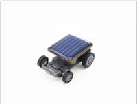 Wholesale Creative Solar Energy Toys Mini Solar Car Kits Education Learning Toys Kids Children Gifts
