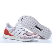 Wholesale Discount Mens Tennis Shoes - Ultra Boost Multicolor 2.0 Shoes Hot Sale Sports Shoes Mens and Womens Sneakers Soft Walking Shoes Discount Cheap Causal Shoes Sneakers