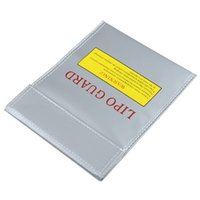 Wholesale Fireproof RC LiPo Battery Safety Bag Safe Guard Charge Sack X230 mm Fire retardant safety bag