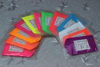 unha polonês misturado cores venda por atacado-Atacado-100gram x Mixed 10 cores NEON pó de pigmento fluorescente de fósforo para Nail PolishPaintingImpressão