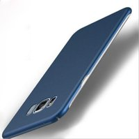Wholesale Pc Cases Manufacturers - Manufacturers wholesale Samsung S8 mobile shell, ultra-thin matte injection, s7edge all inclusive PC protective cover, s8plus hard shell