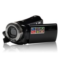 Wholesale rotating camera shot for sale - Group buy Professional Home Use DVC TFT LCD HD P Digital Video Camcorder x Zoom DV Camera HDMI Video Output HD Lens AH0009
