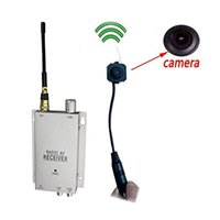Wholesale Camera Systems Complete - Wireless Security Camera with Receiver Spy Pinhole Micro Cam Complete Surveillance System CCTV Camera