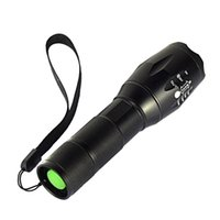 Wholesale Free Xm - E17 CREE XM-L T6 3800Lumens cree led Torch Zoomable cree LED Flashlight Torch light For 3xAAA or 1x18650 Free shipping