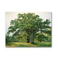 5d70446f8a leinwand ölgemälde landschaft wald großhandel-ARTPIONEER russische Maler  Shishkin Wald Landschaft Leinwand Landschaft Landschaft Ölgemälde