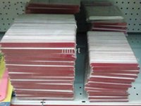 Wholesale wooden file - Wholesale Nail Tool Wooden Thin Nail File Emery board 11.5cm 100pcs bag grit 180 240