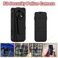 Wholesale Auto Police - F2 Security police camera HD 1080P Night Vision Patrol Guard Recorder Body Pocket Mini DVR 140° wide auto cycle recording