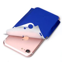 Wholesale Decals For Cell Phones - For iPhone 7 7Plus Screen Protector Full Film Sticker Chinese Red Blue Anti-scratch Cell Phone Back Protective Skin Decal Stickers