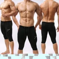 Wholesale Sexy Men Tight Clothing - Wholesale-2015 Newest brave person shorts men tights shorts sexy bodybuilding crossfit casual mens clothing bermudas camufladas
