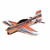 rc flugzeug micro großhandel-Großhandel- SAKURA 417mm Wingspan 3D Aerobatic EPP Micro RC Flugzeug Orange KIT
