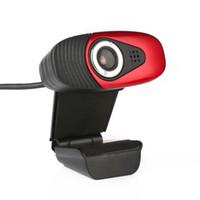 Wholesale Hd Vista - Mini A871 Clip-on 360 Degree 1.4M USB Cable 1.3 Megapixel HD Camera Webcam Web Cam with MIC for Windows Vista 32bit Android TV