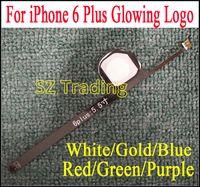 Wholesale Led Flashlight Bar - For iPhone 6 Plus Flashlight Glowing Logo DIY Luminescent LED Light Logo Mod Kit for iPhone6 Plus Back Housing