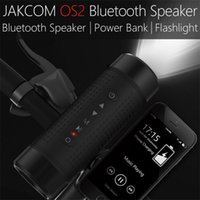 Jakcom OS2 Haut-Parleur Bluetooth Extérieur IP56 Waterproof 5200mAh Bicyclette Subwoofer Portable Basse Haut-parleur LED + Support Bike Mount TF AUX FM
