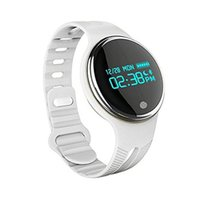 Wholesale Waterproof Watch 24 Hours - E07 Swimming Smart Bracelet 24 12 Hour System Necklace Band Pedometer Fitness Watch Step Counter Smart Wristband pk fit bit