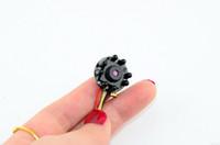 cmos de color camara por cable al por mayor-Mini cámara de CCTV con 8 leds de visión nocturna de grabación de video de audio 1280 * 960 HD 700TVL 1/4