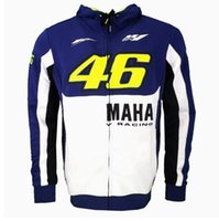 2017 Nouveau MOTO GP Valentino Rossi Racing Jackets The Doctor VR46 Hoodies Cotton Motocyclette VR 46 Casual Sports Sweatshirts